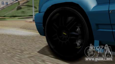 Syndicate Criminal (Cavalcade FXT) from SR3 para GTA San Andreas vista posterior izquierda