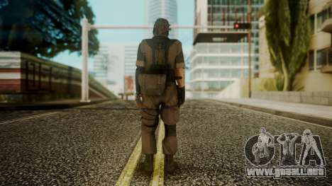 Venom Snake Stun Arm para GTA San Andreas tercera pantalla