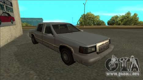 Stretch Sedan para GTA San Andreas left