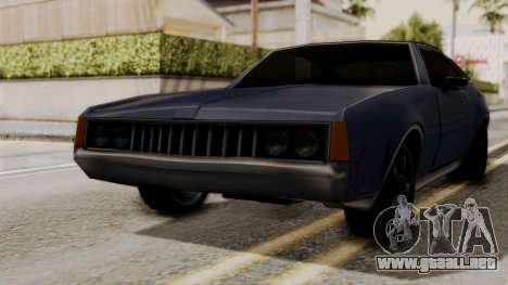 Clover Dub Edition para GTA San Andreas vista posterior izquierda
