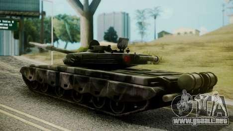 Type 99 from Mercenaries 2 para GTA San Andreas left