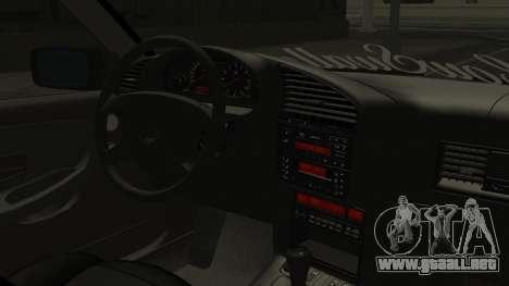 BMW M3 E36 Coupe para la visión correcta GTA San Andreas