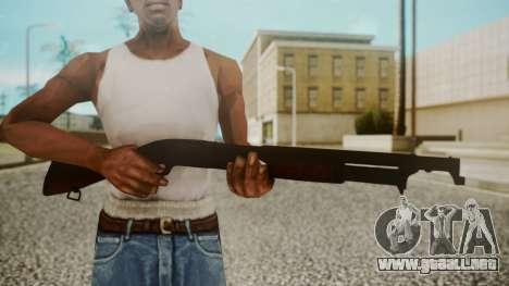 Winchester M1912 para GTA San Andreas