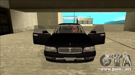 Nissan Cedric Drift para visión interna GTA San Andreas