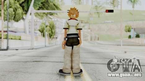 Kingdom Hearts 2 - Roxas Default para GTA San Andreas tercera pantalla