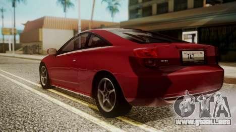 Toyota Celica SS2 Tunable para GTA San Andreas left