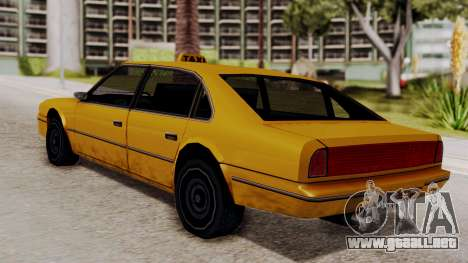 Taxi Emperor v1.0 para GTA San Andreas left