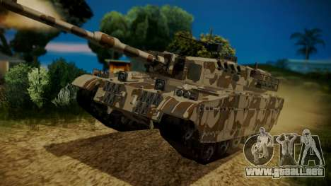 GTA 5 Rhino Tank para GTA San Andreas