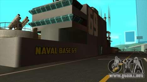 Nuevas texturas de San Fierro para GTA San Andreas sucesivamente de pantalla