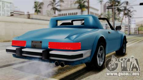 Comet from Vice City Stories para GTA San Andreas left