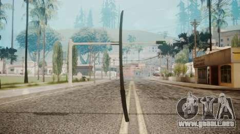 O-Ren Ishii Katana from Kill Bill para GTA San Andreas segunda pantalla