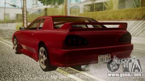 Elegy NR32 with Neon para GTA San Andreas left