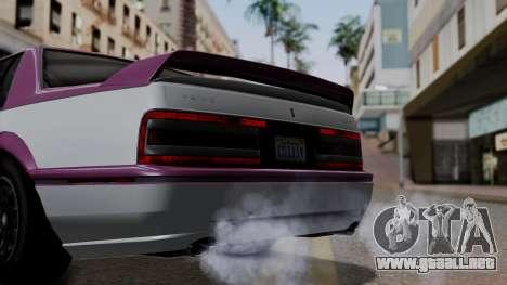 GTA 5 Albany Primo IVF para la visión correcta GTA San Andreas