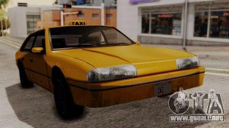 Taxi Emperor v1.0 para GTA San Andreas vista posterior izquierda