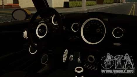 Mini Cooper Clubman 2011 K-ON Ritsu Itasha para la visión correcta GTA San Andreas