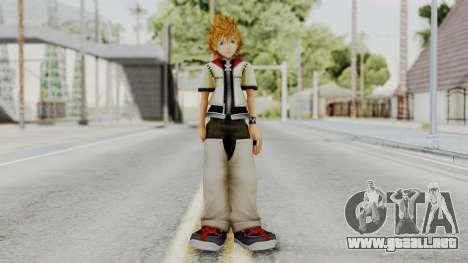 Kingdom Hearts 2 - Roxas Default para GTA San Andreas segunda pantalla
