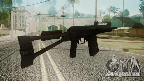 SAIGA Battlefield 3 para GTA San Andreas segunda pantalla