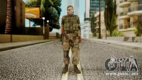 Venom Snake Woodland para GTA San Andreas segunda pantalla