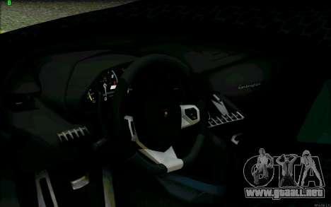 Lamborghini Aventador LP-700 Razer Gaming para la vista superior GTA San Andreas