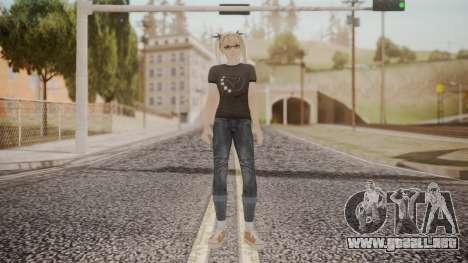 DoA 5 Ultimate - Marie Rose Punk para GTA San Andreas segunda pantalla