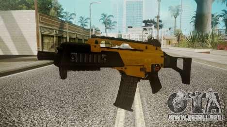 G36C Gold para GTA San Andreas segunda pantalla