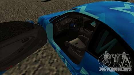 Toyota MR2 Drift Blue Star para la visión correcta GTA San Andreas