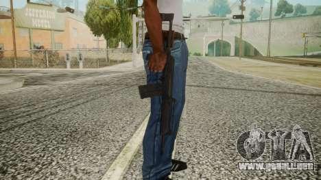 SAIGA Battlefield 3 para GTA San Andreas tercera pantalla