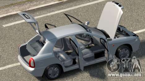 Daewoo Nubira I Hatchback CDX 1997 para GTA 4 vista interior