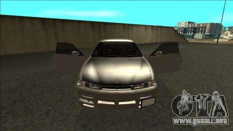 Nissan 200sx Drift JDM para visión interna GTA San Andreas