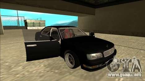 Nissan Cedric Drift para vista lateral GTA San Andreas