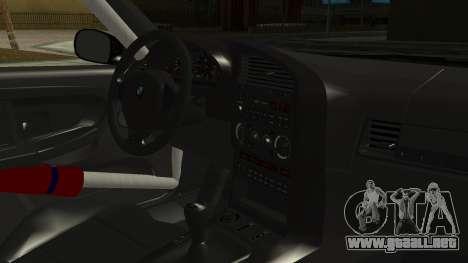 BMW M3 E36 Happy Drift Friends para la visión correcta GTA San Andreas