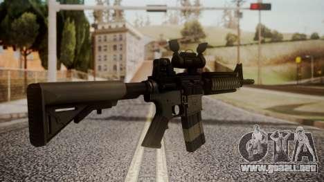 Rifle by catfromnesbox para GTA San Andreas segunda pantalla