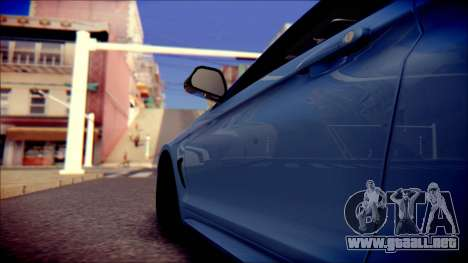 BMW 4 Series Coupe M Sport para visión interna GTA San Andreas