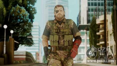 Venom Snake Woodland para GTA San Andreas