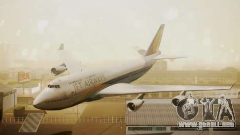 Boeing 747-400 Jat Airways para GTA San Andreas