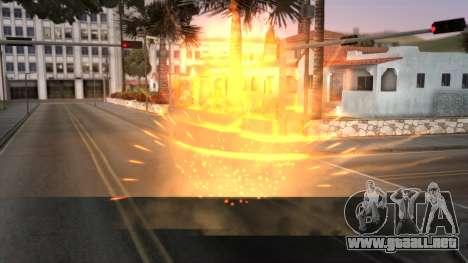 Realistic Effects Particles para GTA San Andreas segunda pantalla