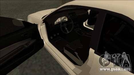 Nissan Skyline R34 Drift JDM para la visión correcta GTA San Andreas
