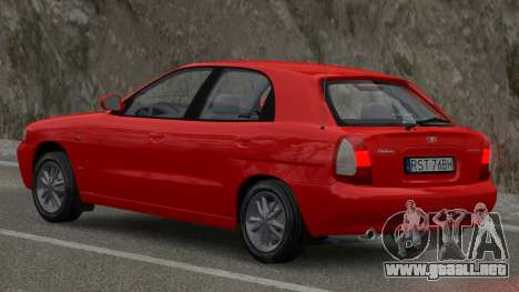 Daewoo Nubira I Hatchback CDX 1997 para GTA 4 left