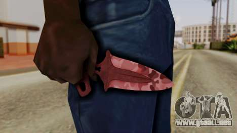 La Sombra De La Daga Asesinato para GTA San Andreas tercera pantalla