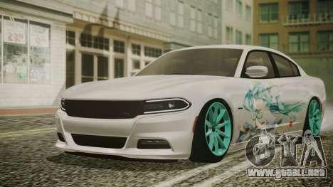Dodge Charger RT 2015 Hatsune Miku para GTA San Andreas