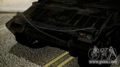 VD-1710 Armadillo APC Camo para la visión correcta GTA San Andreas