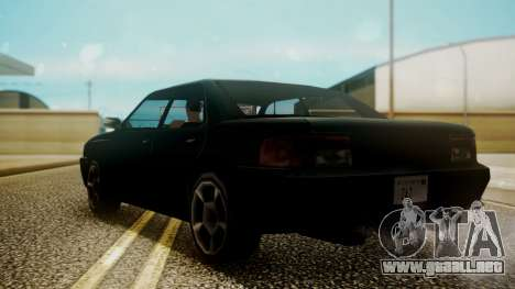 Sultan Hell Cat para GTA San Andreas left