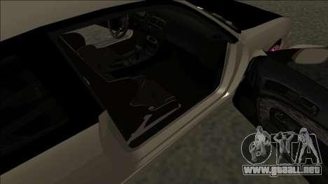 Nissan 200sx Drift JDM para GTA San Andreas vista posterior izquierda