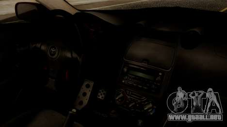 Toyota Celica SS2 Tunable para la visión correcta GTA San Andreas
