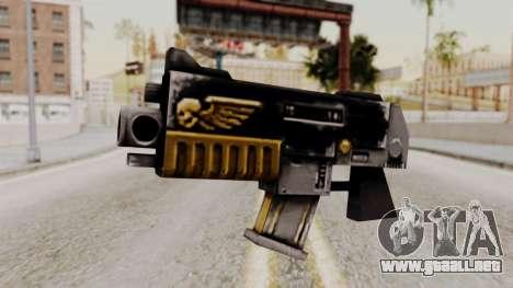 Un bólter de Warhammer 40k para GTA San Andreas