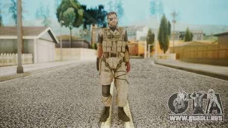 Venom Snake Desert Fox para GTA San Andreas segunda pantalla