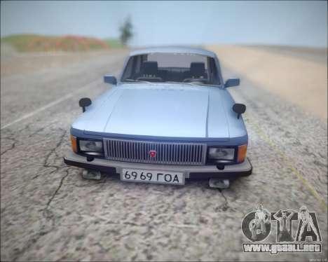 Volga 3102 para GTA San Andreas left