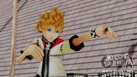 Kingdom Hearts 2 - Roxas Default para GTA San Andreas