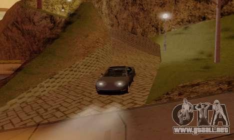 ENB Settings by LaiM para GTA San Andreas sucesivamente de pantalla