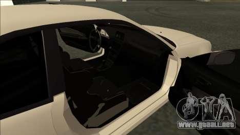 Nissan Skyline R34 Drift JDM para GTA San Andreas vista posterior izquierda